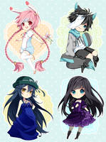 Chibi commission batch 27 by inma