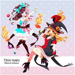 Tiny Wars by inma