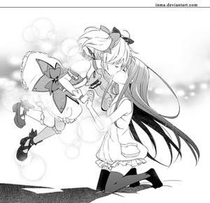 MadoHomu kiss