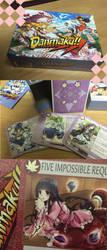 Danmaku card game photos by inma