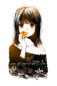 Orange tears