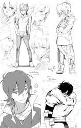 Voltron doodles3