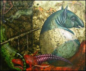 Tapir's Dream by EllieOkamoto