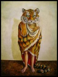 The Tiger -tableau- by EllieOkamoto