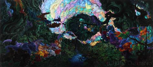 Spirited Trail by EllieOkamoto