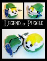 Legend of Puggle: Link by callykarishokka