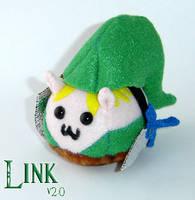 Legend of Puggle: Link v2.0 by callykarishokka