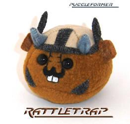 Puggleformer - Rattletrap by callykarishokka