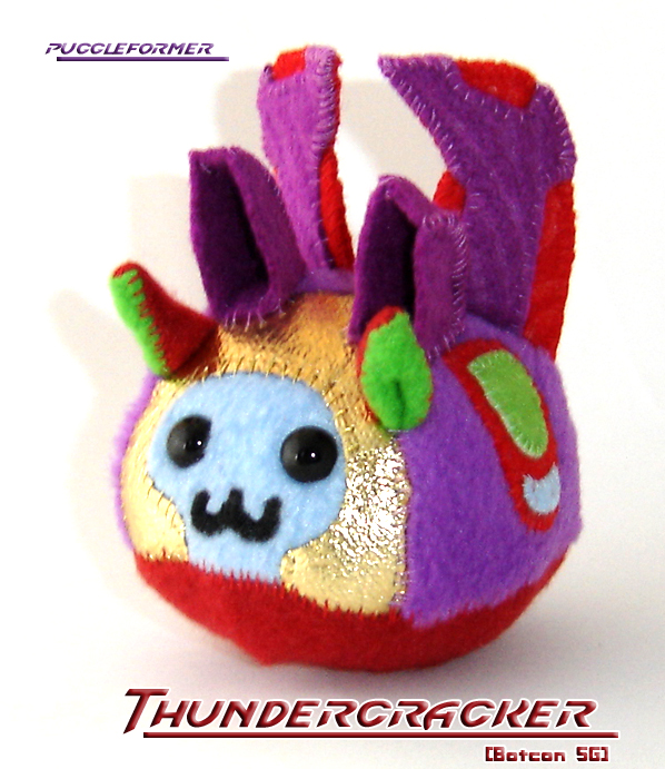 Puggleformer: SGThundercracker by callykarishokka