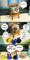 Puggleformer Comic - Play Time by callykarishokka