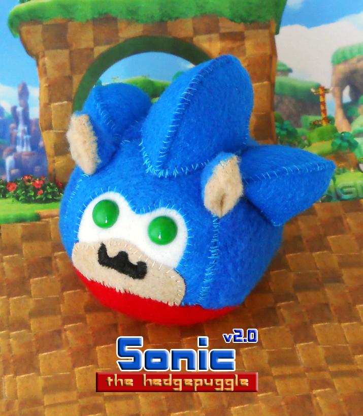 Sonic the Hedgepuggle v2.0 by callykarishokka
