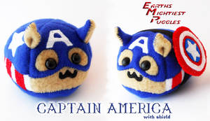 Earths Mightiest Puggles - Captain America