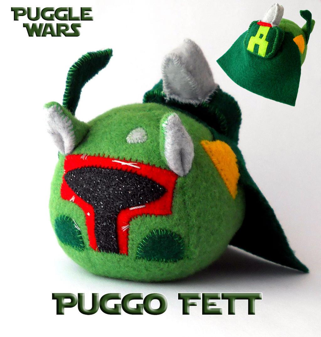Puggle Wars - Puggo Fett by callykarishokka