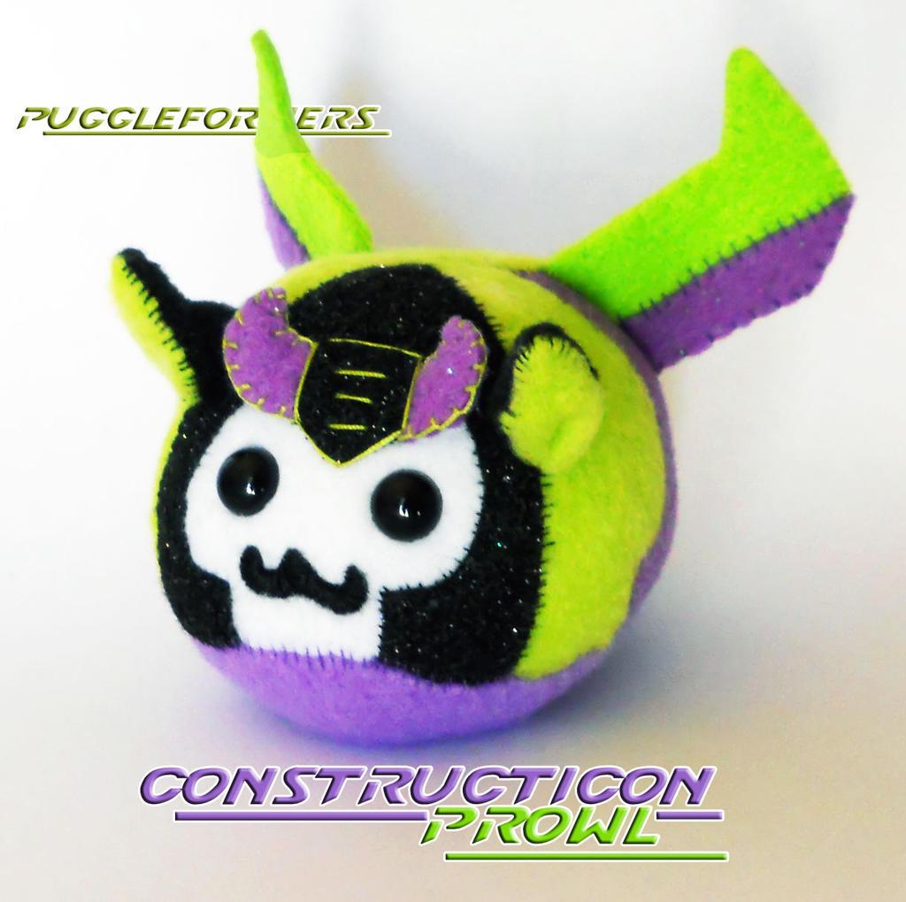 Puggleformers - Constructicon Prowl by callykarishokka