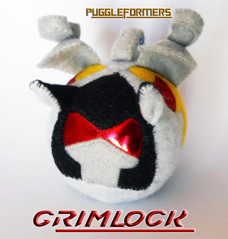 Puggleformers - Grimlock by callykarishokka