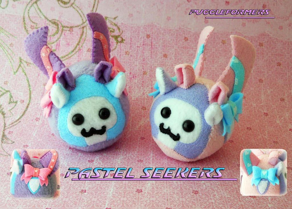 Puggleformers - Pastel Seekers by callykarishokka