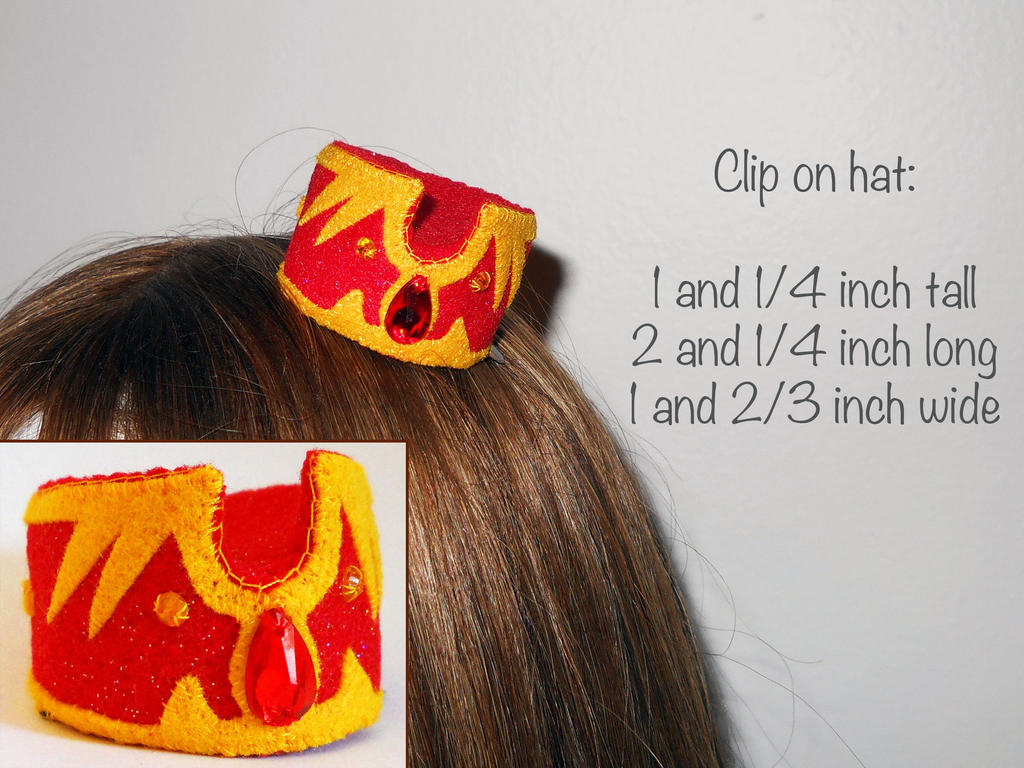 Clip On Mini Hat by callykarishokka