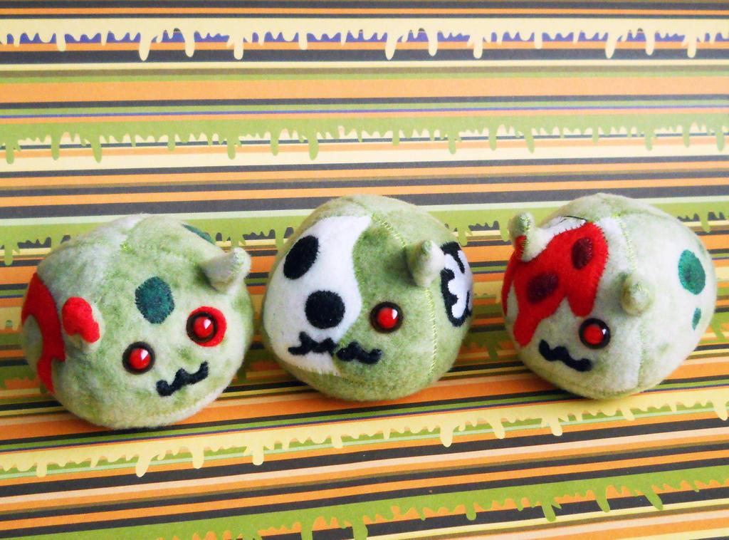 Puff Puggle Zombies 2015 by callykarishokka