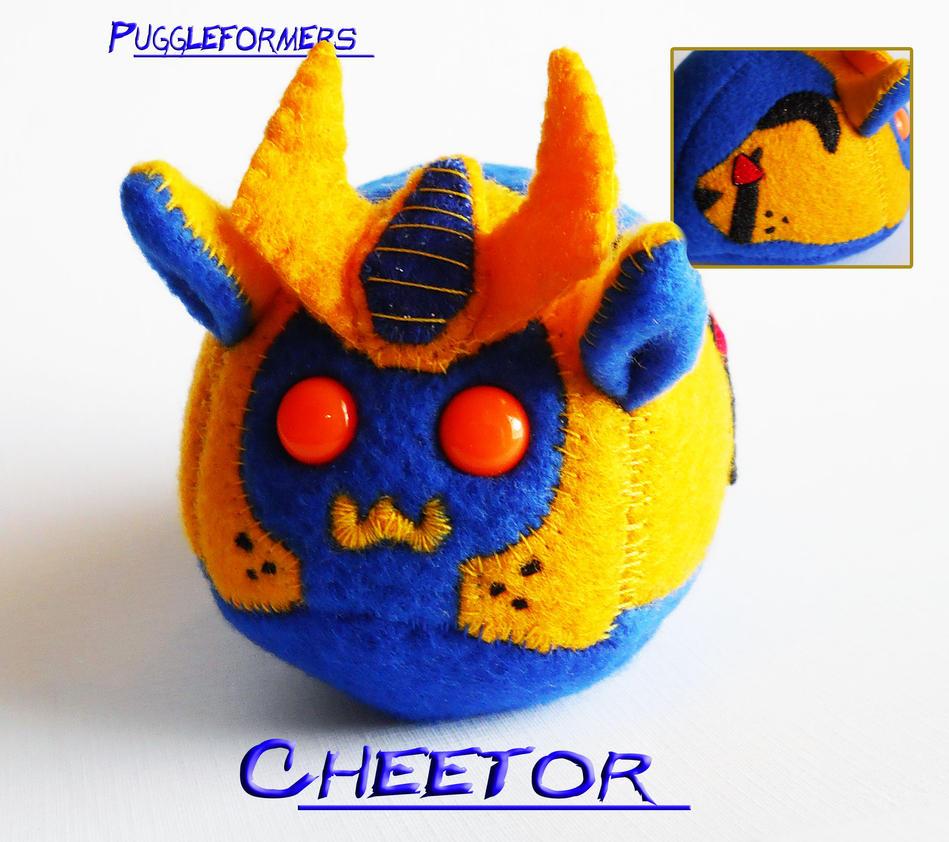 Puggleformers - BW Cheetor by callykarishokka