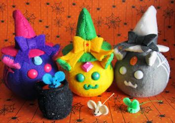 Puff Puggle - Witches by callykarishokka