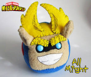 My Puggle Academia - ALL MIGHT