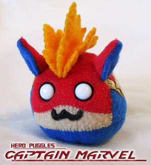 Superpuggles - Captain Marvel