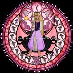Princess Eilonwy - Kingdom Hearts Stain Glass