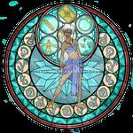 Princess Kida - Kingdom Hearts Stain Glass