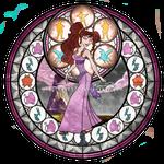 Meg (Megara) - Kingdom Hearts Stain Glass