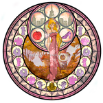 Giselle - Kingdom Hearts Stain Glass