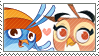 -WillowXDahlia stamp- by MilanaArt