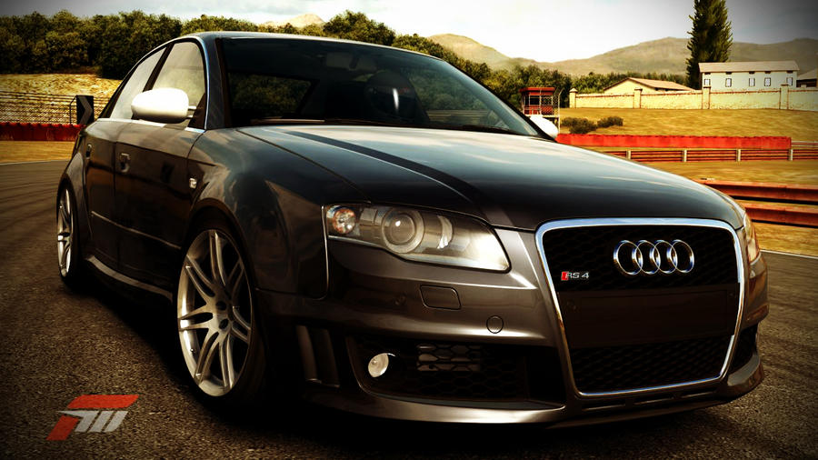 Forza Motorsport 3 Audi RS4 HD Wallpaper