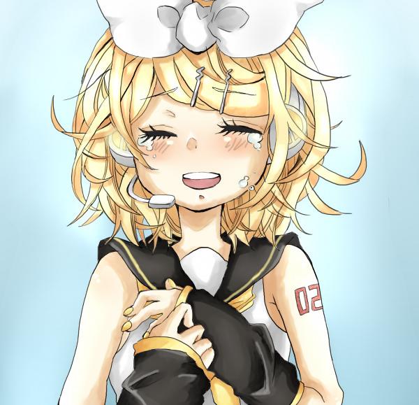 Kagamine Rin Crying Kagamine Rin Crying