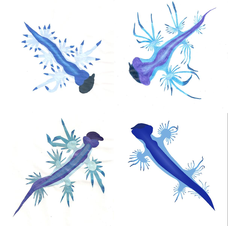Convergence of the Blue Sea Slugs by Pfaccioxx