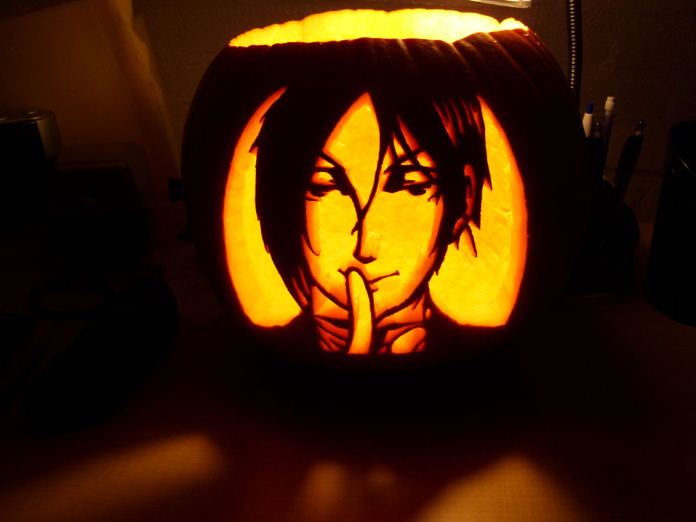 Black pumpkin sebastian by love mist on deviantart