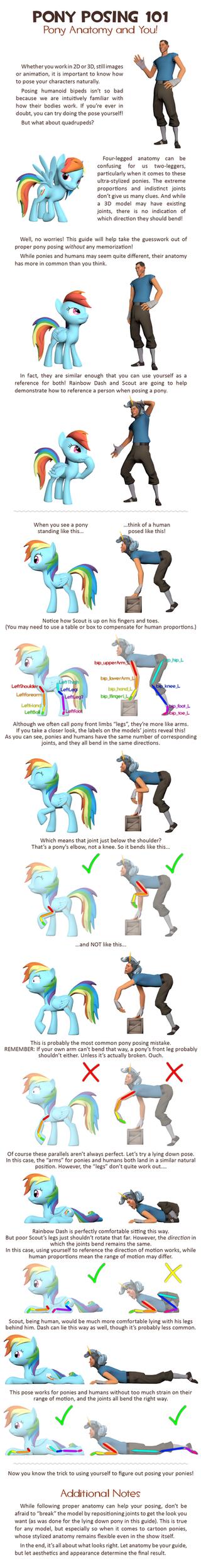Pony Posing 101 by love-mist