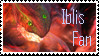 Iblis Stamp by BlurBird