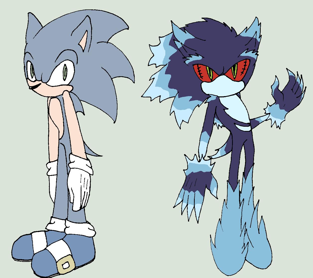 Sonic Forms: Mephiles: Sonic Form By BlurBird On DeviantArt