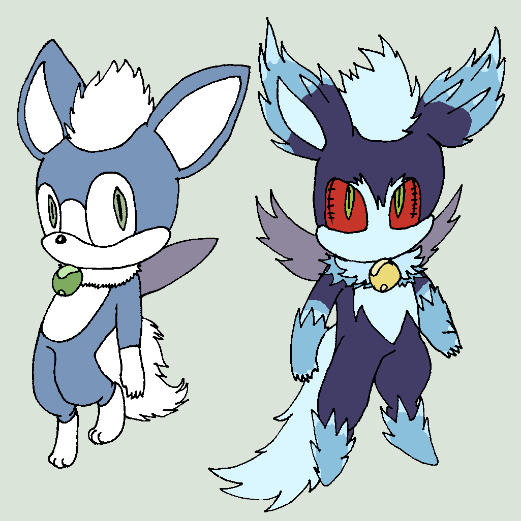 Sonic Forms: Mephiles: Chip Form By BlurBird On DeviantArt