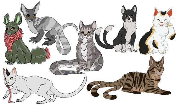 mythical Cats