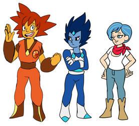 Dragonball but it's Steven universe