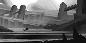 Concept of Nordic landscape (Work In Progress)