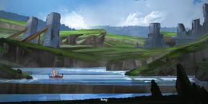 Viking Landscape