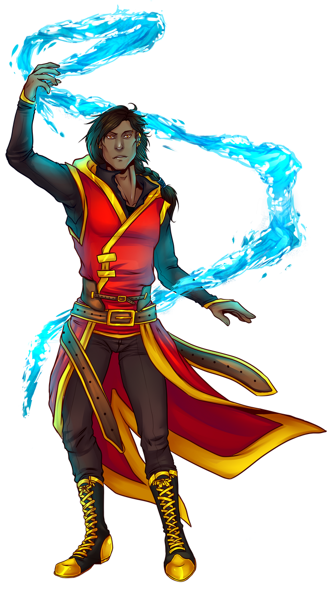 RB: Qannik the firebender by Avahollic