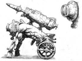 The Human Mortar by MarkBulahao