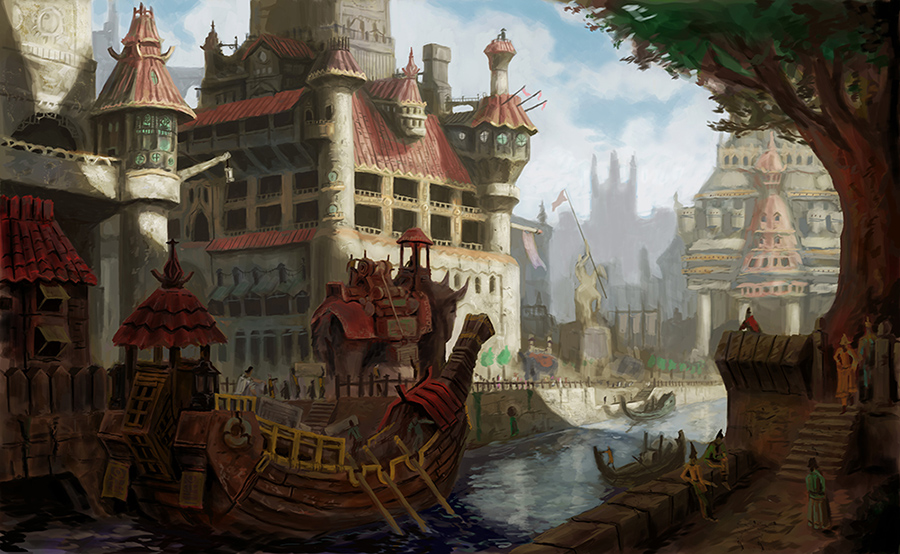 Canal city by MarkBulahao