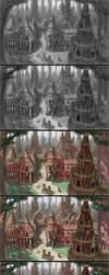Forest Village Process by MarkBulahao