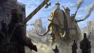 War Mammoth by MarkBulahao