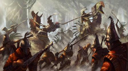 Battle of Kuska by MarkBulahao