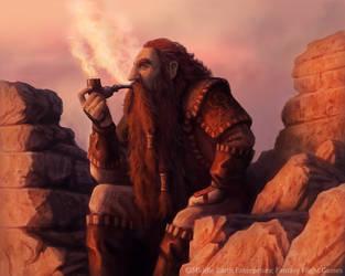 Dwarf Pipe by MarkBulahao
